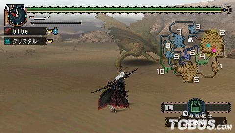 《怪物猎人2G》集会所下位之沙龙王讨伐 太刀篇