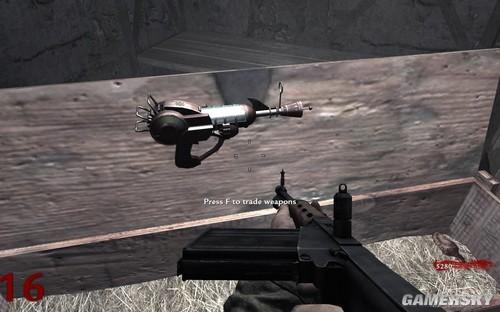 《使命召唤5》僵尸关详解之隐藏武器擂射枪