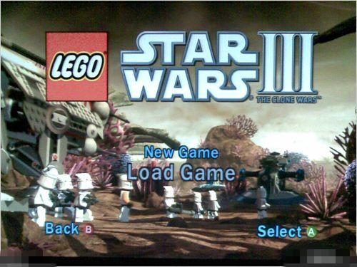 《乐高星球大战3:克隆战争》攻略(psp游戏)
