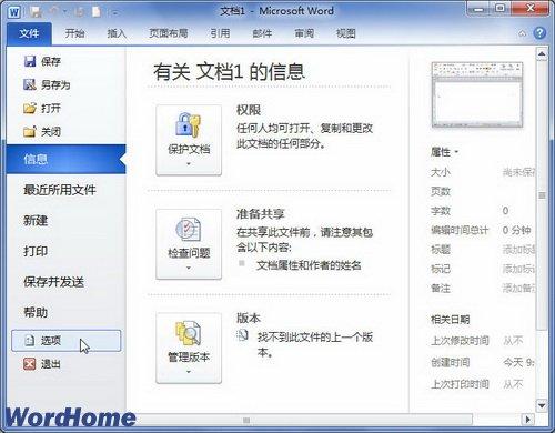 怎么在Word2010中启用或禁用Office加载项
