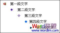 Word中多级项目符号使用方法