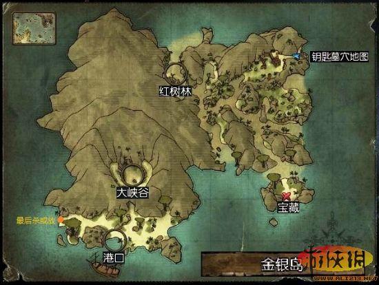 崛起2黑暗水域金银岛主要任务攻略