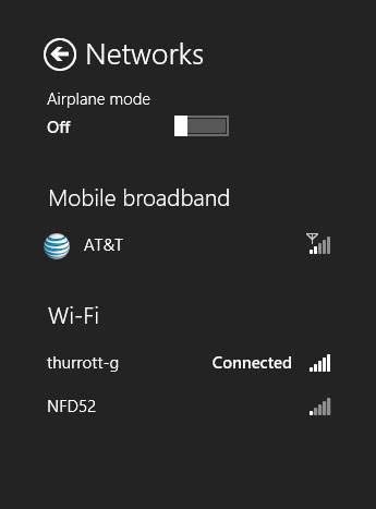 """Windows 8""""飞行模式""""使用方法"""