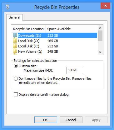 如何恢复Windows8删除文件确认对话框