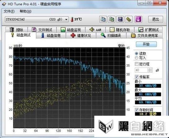 HD Tune硬盘检测工具使用方法