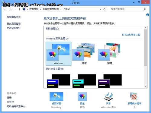 Win8系统桌面如何添加计算机图标