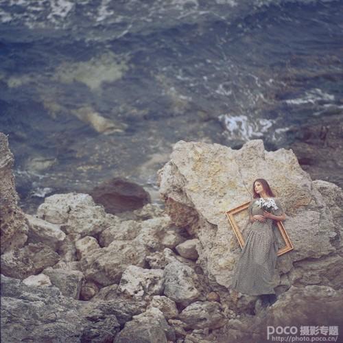 深秋人物拍摄技巧 凸出孤寂凄凉场景