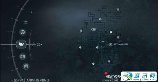 《刺客信条3》地下快速通道地图详解