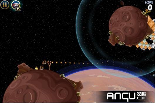 《愤怒的小鸟:星球大战》第一大关26-30三星攻略