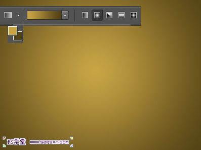 ps文字特效-打造黄金字体