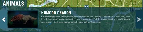 孤岛惊魂3动物图片介绍
