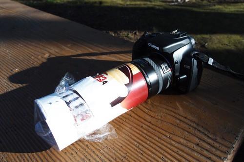 镜头DIY 拍出奇特照片