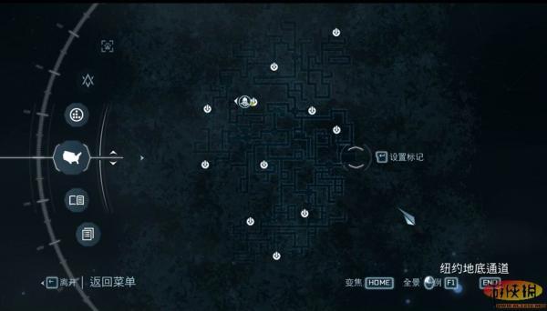 《刺客信条3》纽约地下通道处入口在哪