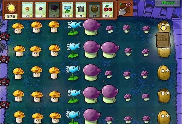 《植物大战僵尸》第二关游戏攻略