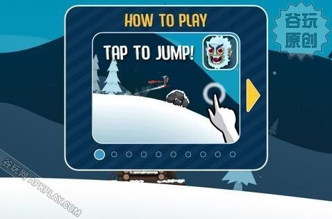 《滑雪大冒险》iPhone版评测与操作攻略