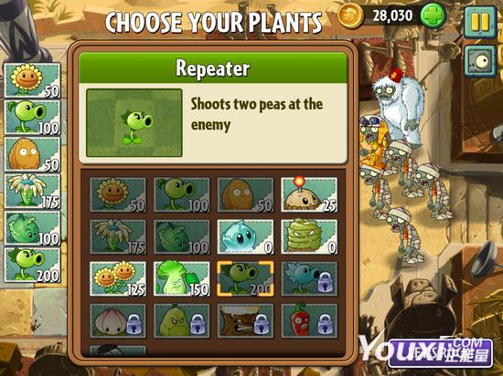 《植物大战僵尸2》雪人僵尸打法攻略
