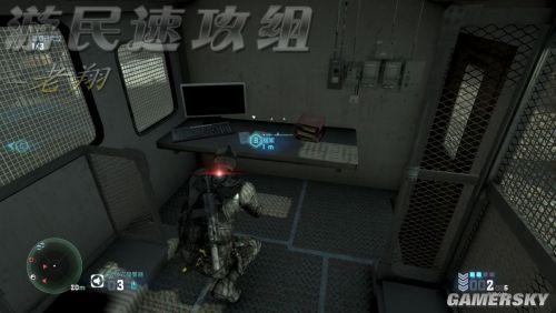 《细胞分裂6:黑名单》葛琳任务2:边境交界支线任务完成攻略