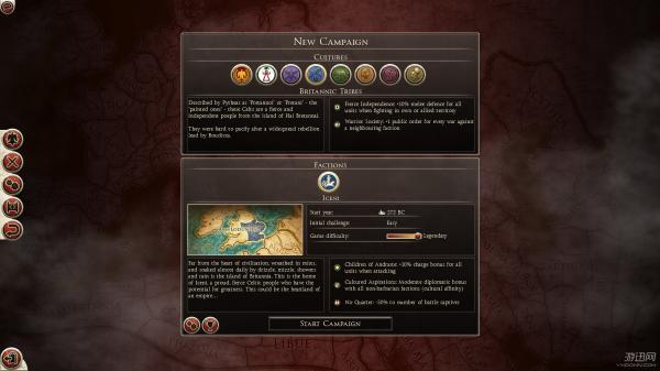 《罗马2:全面战争》不列颠开局新手指南