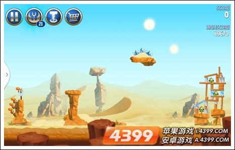 《愤怒的小鸟:星球大战2》高分攻略