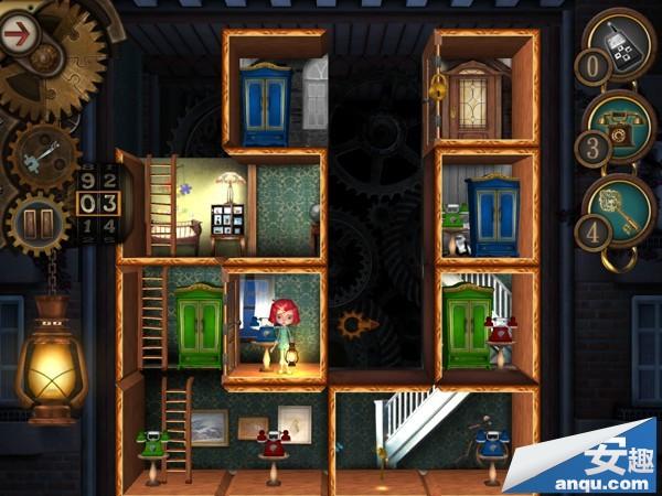 《豪宅之谜》第1-16关卡:空荡荡的心三星图文攻略