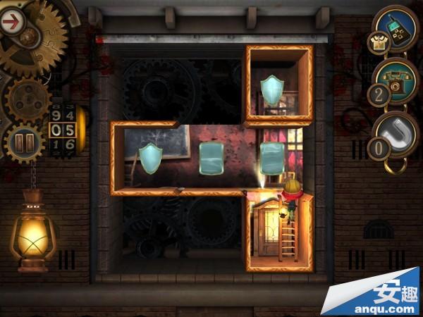 《豪宅之谜》第3-3关卡:移动半面的镜子图文攻略