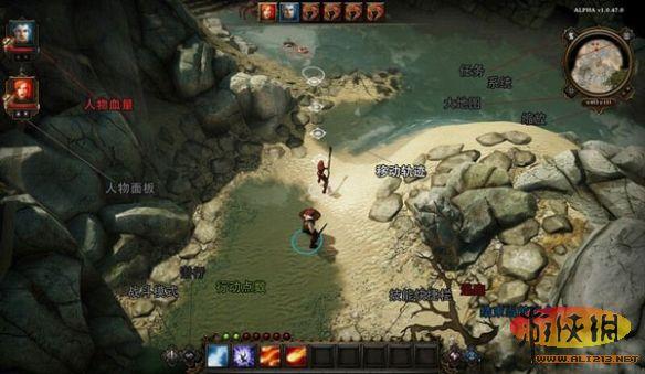 《神界3:原罪》战斗界面使用详解