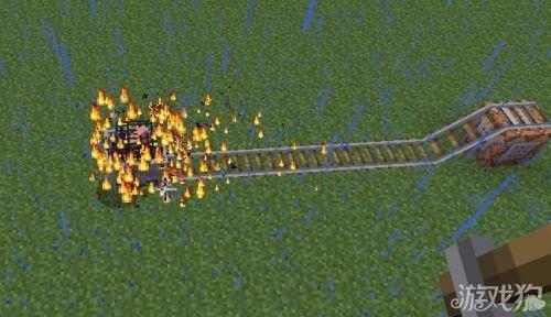 《我的世界》自动铺轨机命令方块制作教程