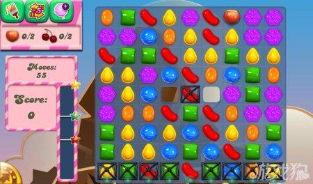 《糖果粉碎传奇Candy Crush Saga》36,37,38,39,40关过关攻略