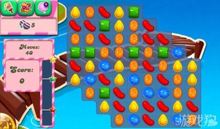 《糖果粉碎传奇Candy Crush Saga》130,131,132关过关攻略
