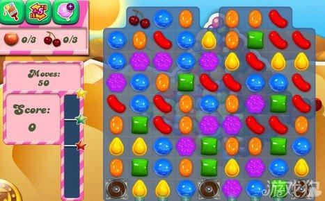 《糖果粉碎传奇Candy Crush Saga》163,164,165关过关攻略