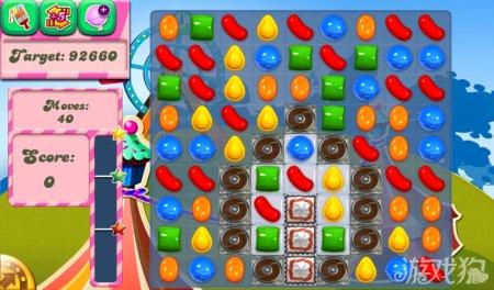 《糖果粉碎传奇Candy Crush Saga》181,182,183,184,185关过关攻略