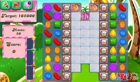 《糖果粉碎传奇Candy Crush Saga》192,193,194关过关攻略