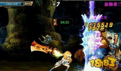 《剑魂之刃》元素剑姬崩雷剑实用连招解析