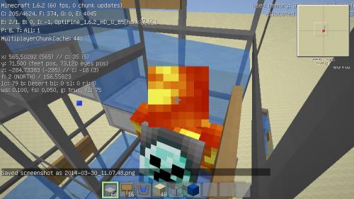 《我的世界》Minecraft水楼梯制作方法