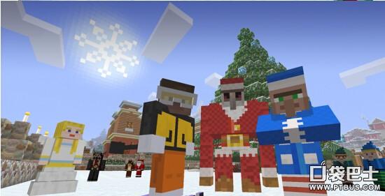 《我的世界》圣诞主题包今日发布
