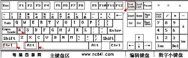 电脑怎么全屏截图 有快捷键吗