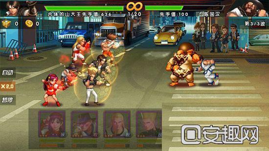 《拳皇98终极之战OL》噩梦关卡第一章通关攻略