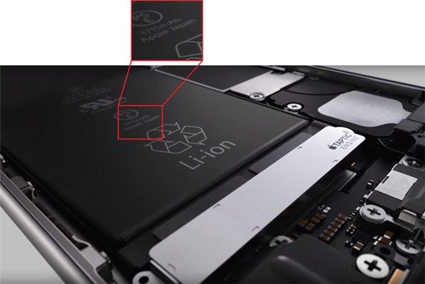 iphone6s电池容量多少 iphone6s电池容量为什么比iPhone6小