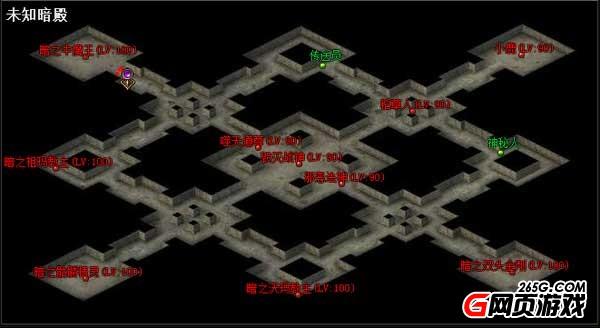 《传奇霸业》未知暗殿怎么挑战 未知暗殿在哪