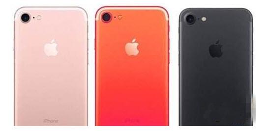 iPhone7s有什么颜色?