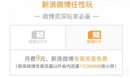 新浪微博v卡流量怎么买?新浪v博v卡从此刷微博不用流量吗?