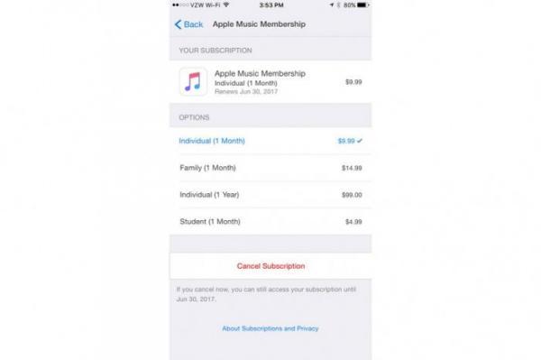 Apple Music新增年费订阅套餐选择,99美元就可以Get!