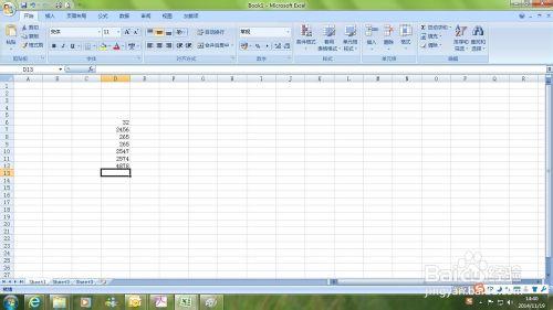 EXCEL中如何横向输入数据?横向输入数据的2种方法