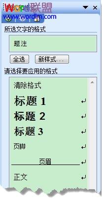 必须知道的!Word2003文档排版如何设置样式和格式