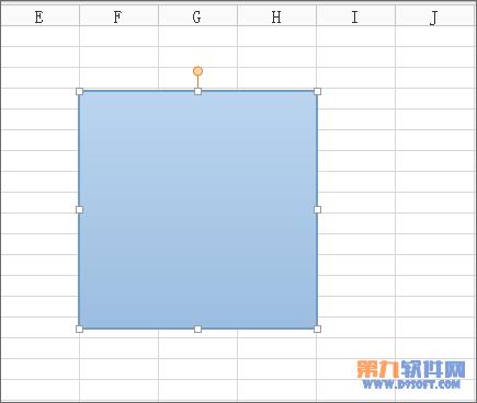 Excel怎么绘制任意矩形?你知道吗?