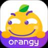 orangy