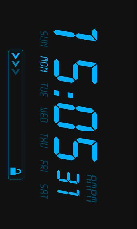 液晶时钟软件截图3
